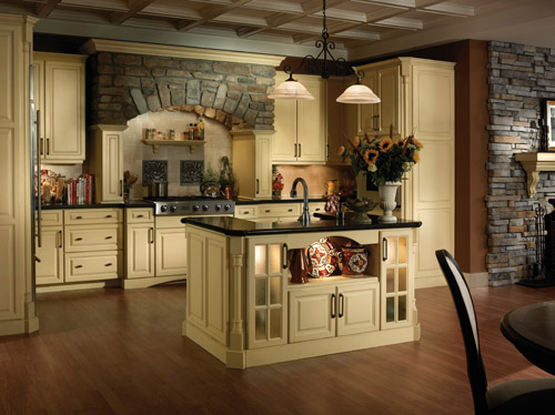Semi Custom Cabinets - Castle Vision Design | Castle Vision Design